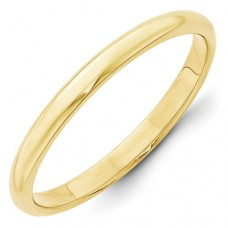 10KY 2.5mm Half Round Band Size 10