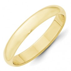 10KY 4mm Half Round Band Size 10