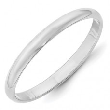 10KW 2.5mm LTW Half Round Band Size 7