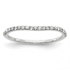 14KY 2.5mm Half Round Band Size 7