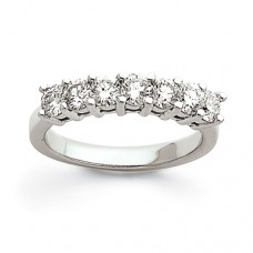 SS 7mm Polished Fancy Band Size 7