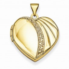 14k 21mm Heart Locket