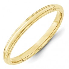 10KY 2.5mm Half Round with Edge Band Size 10