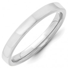 10KW 3mm Standard Flat Comfort Fit Band Size 10